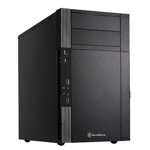 BOITIER PC  SilverStone SST-PS07B - Precision Boîtier PC mini