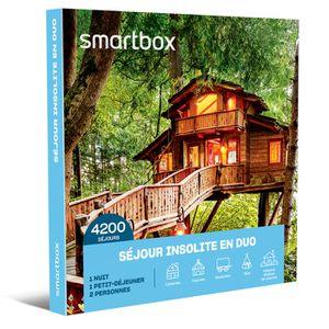 COFFRET SÉJOUR SMARTBOX - Coffret Cadeau - SÉJOUR INSOLITE EN DUO