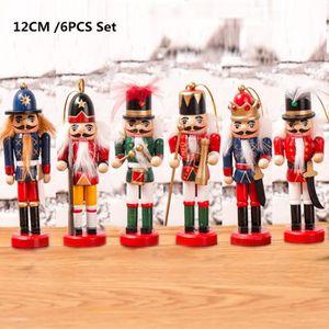 Kits de peinture 12,7/cm//12/cm de hauteur Ensemble de 6/par vierge Soldat Casse-noisette peinture votre propre Casse-noisette