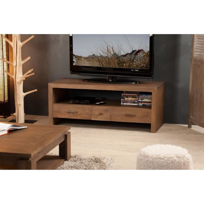 malaga meuble tv 120 cm mindi et contreplaqu achat vente meuble tv malaga meuble tv 120 cm. Black Bedroom Furniture Sets. Home Design Ideas
