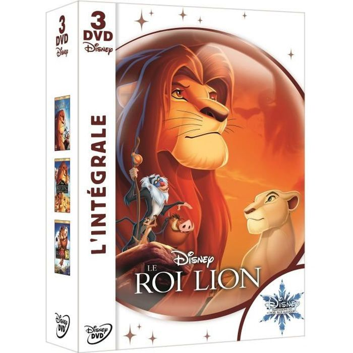 DVD DESSIN ANIMÉ INTEGRALE DVD LE ROI LION