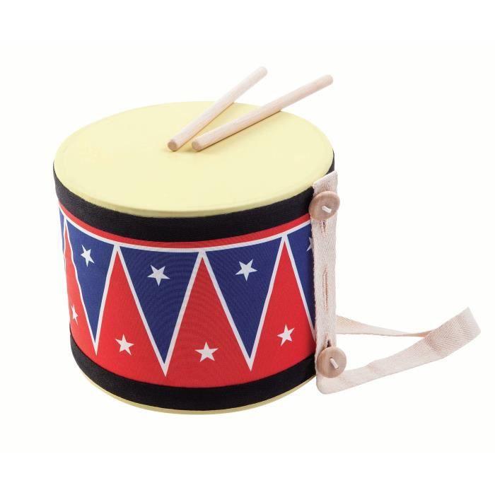 PLAN TOYS Jeu en bois Gros tambour