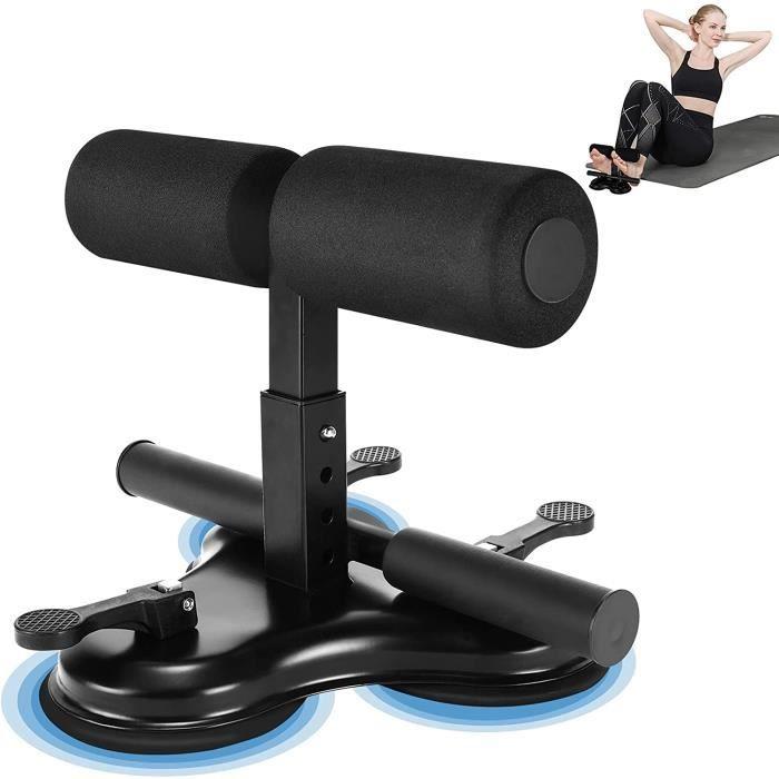 Sit Up Bar Auto-Aspiration,Trois ventouses,entouse Support Situp Réglable Appareil Musculation Muscles Bras Pectoraux Fessier Jambe