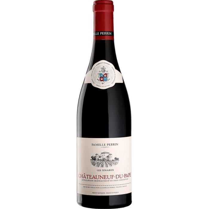 Famille Perrin - Chateauneuf du Pape - Les Sinards - Rouge - 2017 - 75cl