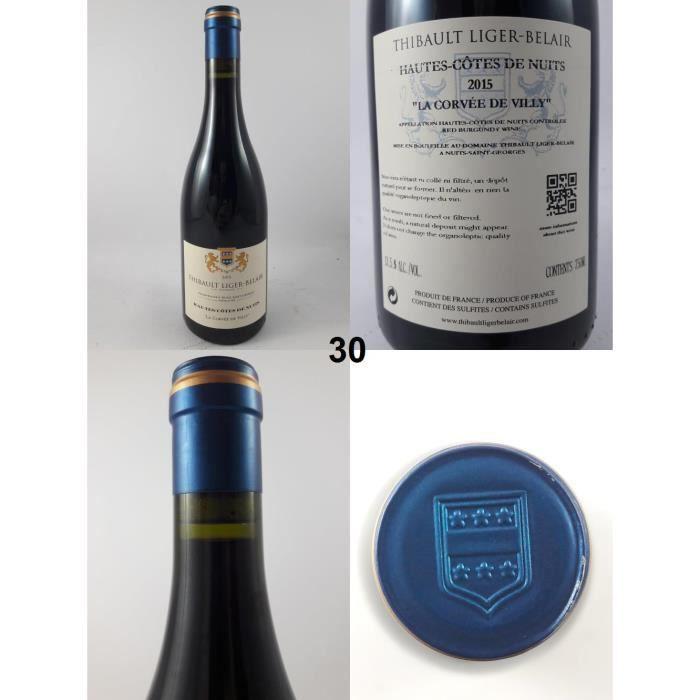 Hautes-Côtes de Nuits - La Corvée de Villy - Liger-Belair 2015 - N° : 30, Bourgogne, Rouge