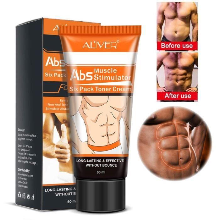 Crème pour les muscles abdominaux pour hommes, Anti-Cellulite, amincissante, brûle les graisses, raffermit le corps, [494B94A]