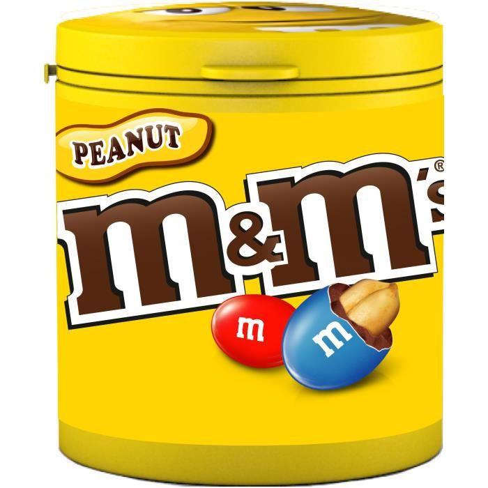 Peanut m&m's 100g de M&M's cacahuètes M&M's