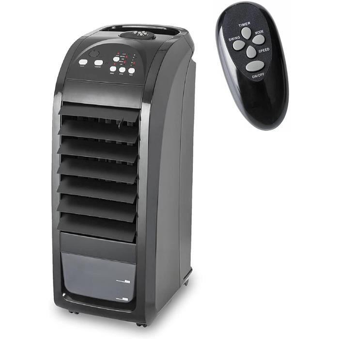 Climatiseur mobile, refroidisseur d'air silencieux (75w) avec design pratique, pour la maison et le bureau, à économie d'énergie a
