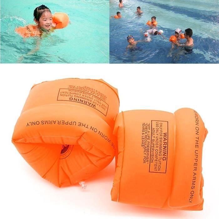 Adultes enfants gonflable bras flotteur sécurité natation ailes eau brassards aide flotteurs CC4409