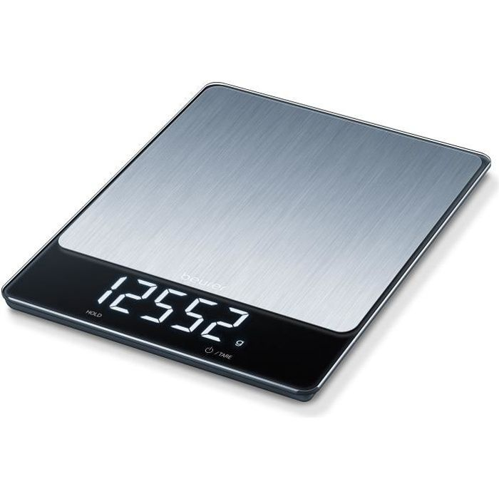 BEURER - KS 34 XL Balance de cuisine en acier inoxydable