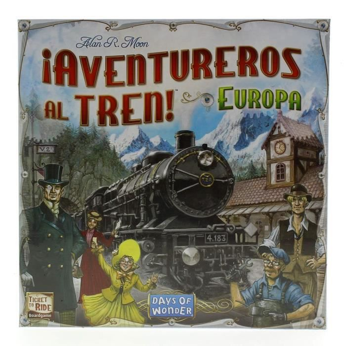 Ticket to Ride jeu! Europe- PIECE DETACHEE MODELISME
