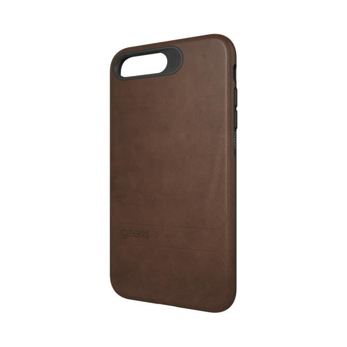GEAR4 D3O Mayfair Coque - iPhone 7 Plus - Marron