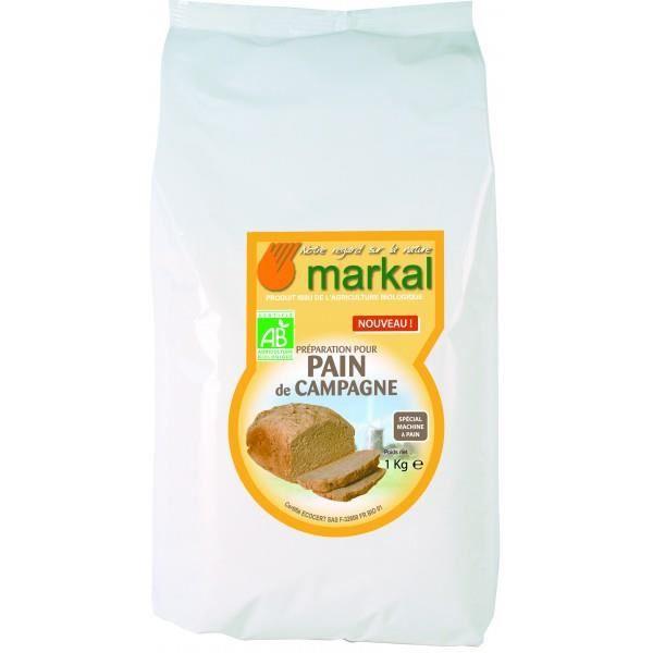 Farine pour pain de campagne, 1kg, Markal
