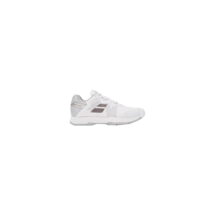 Chaussures BABOLAT Femme SFX All Court Blanc / Silver 2018