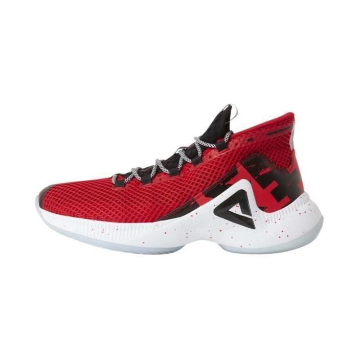 Chaussures de basketball Peak lightning 3 - rouge - 39