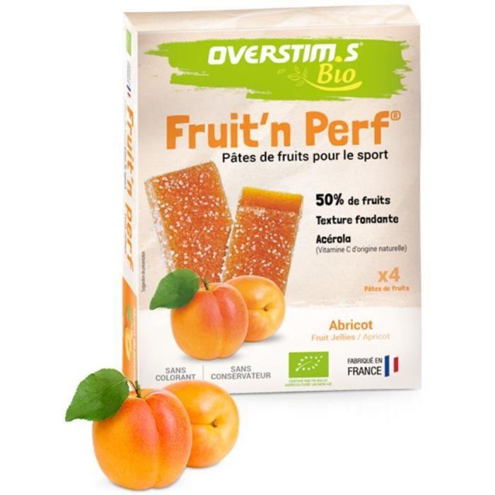 OVERSTIMS - Pates de Fruits Bio pour le sport (4 unités)