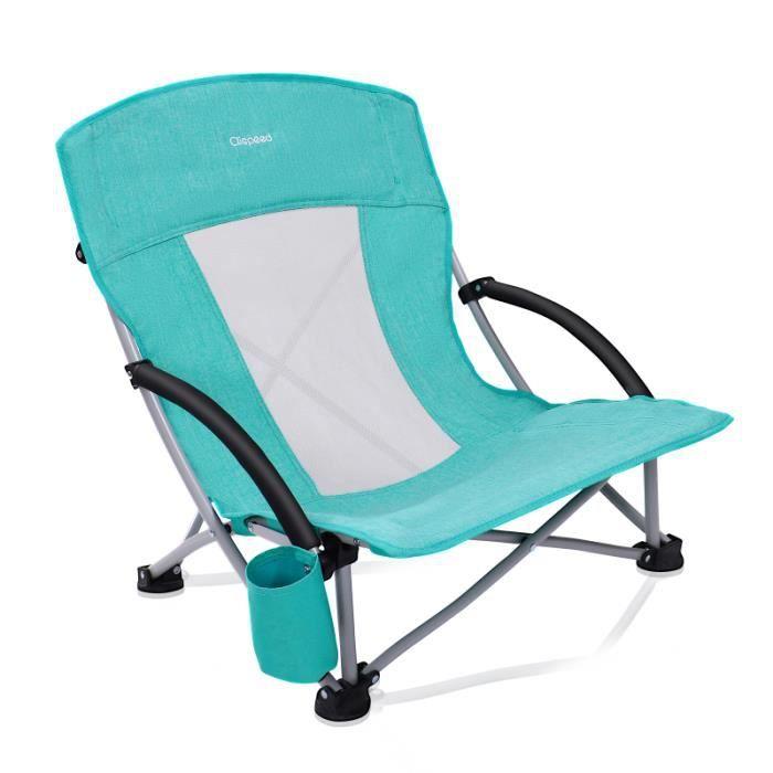 Chaise pliante de plage respirante simple chaise de camping - fauteuil de camping - tabouret de camping camping - camp de base