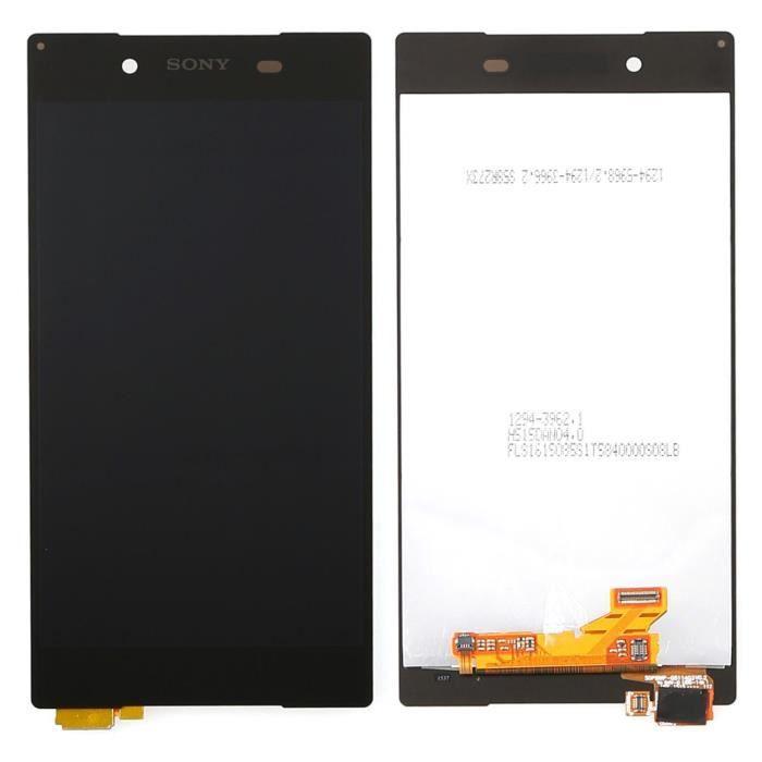 Ecran complet vitre tactile LCD pour Sony Xperia Z5 E6603 E6653 noir