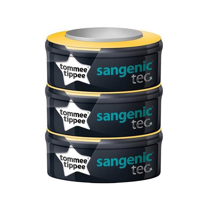 Tommee Tippee - Sangenic - Recharge pour poubelle à couches Lot de 3