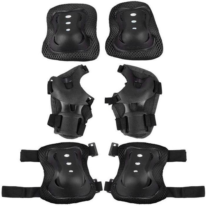 6pcs équipement de protection sport skateboard cyclisme protecteur coude pad TAPIS DE SOL - TAPIS DE GYM - TAPIS DE YOGA