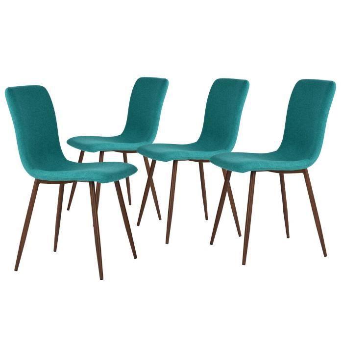 Achat Vente de Turquoise 4 chaise Lot Arcane Chaises FTlK1Jc