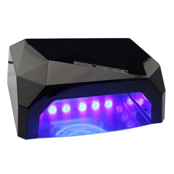 36w lampe ongles s che led uv lampe uv pour ongles diamant en forme de lampe d ongle achat. Black Bedroom Furniture Sets. Home Design Ideas