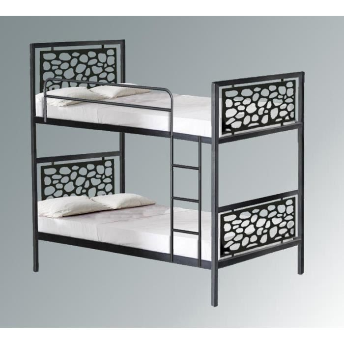 lit superpos en fer forg mod le pessac achat. Black Bedroom Furniture Sets. Home Design Ideas