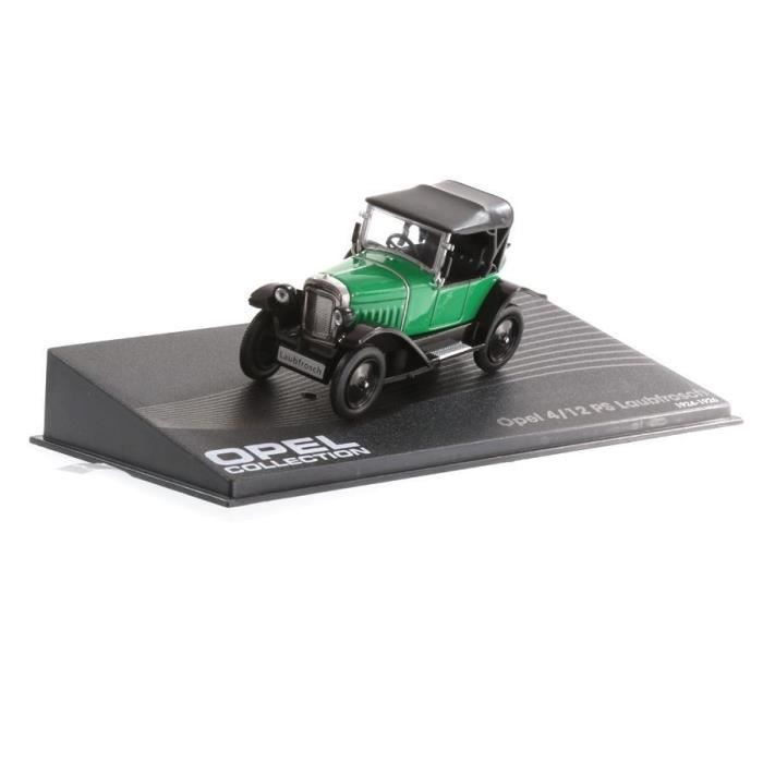 OPEL 4 VOITURE MINIATURE COLLECTION 12 PS IXO 1//43 CAR AUTO-119