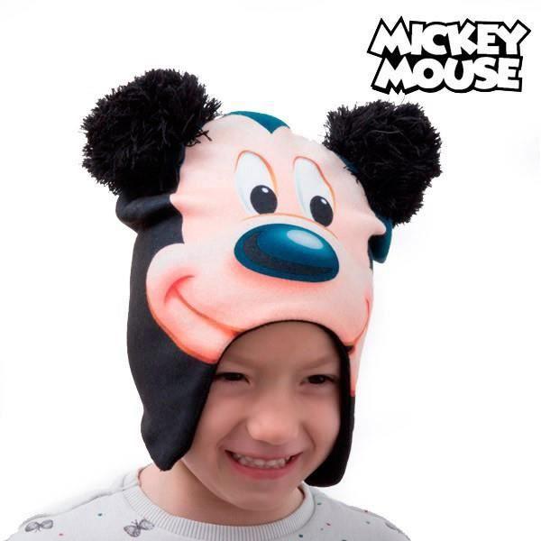 Croissant Bonnet Mickey avec protèges-oreilles pour petit garçon - Cadeau TB-03