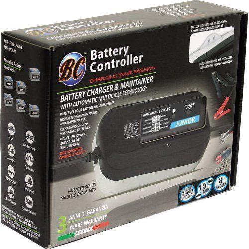 BC Battery Controller 708DEBCJP Chargeur Mainteneur pour Batteries 12 Volts Auto et Moto 1.5 A