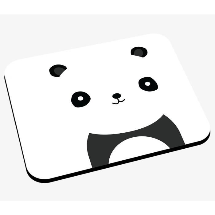 Tapis De Souris Dessin De Panda Style Minimaliste Simpliste Epure Mignon Animaux Prix Pas Cher Cdiscount