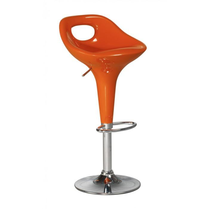 tabouret de bar orange tiffany lot de 2 id 39 clik achat. Black Bedroom Furniture Sets. Home Design Ideas