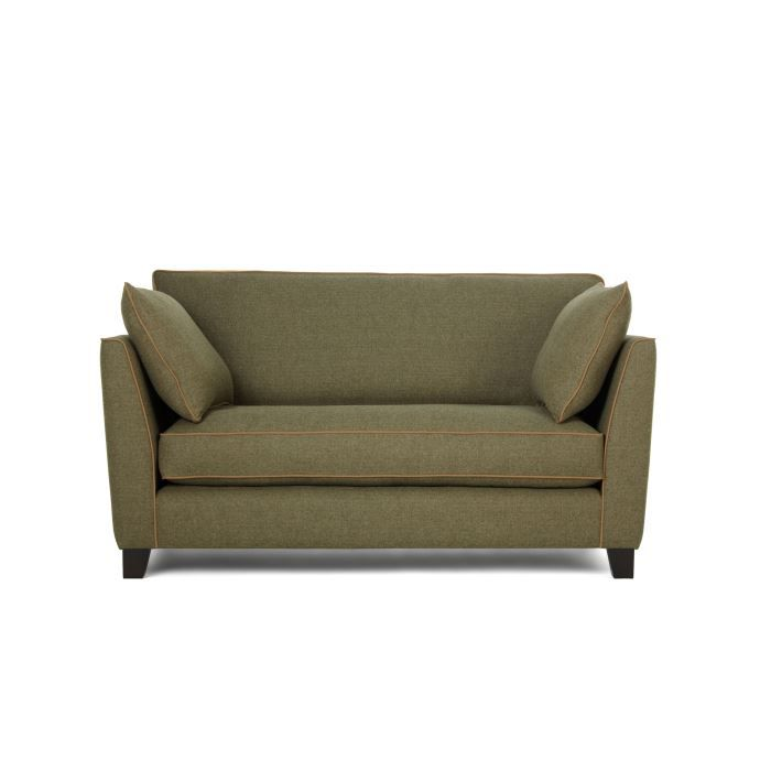 Wolseley canap 2 places en tweed achat vente canap sofa divan c - Cdiscount canape convertible 2 places ...