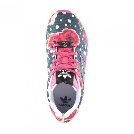 BASKET Chaussures Zx Flux Pink/Black Cadet - adidas Origi