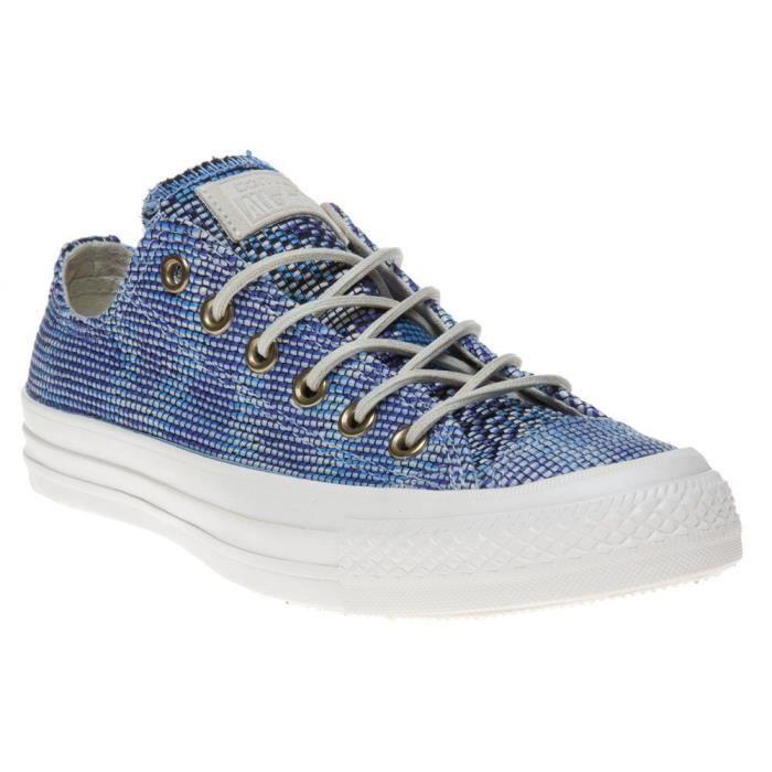 Converse Womens Chuck Taylor All Star Basket Weave Blue