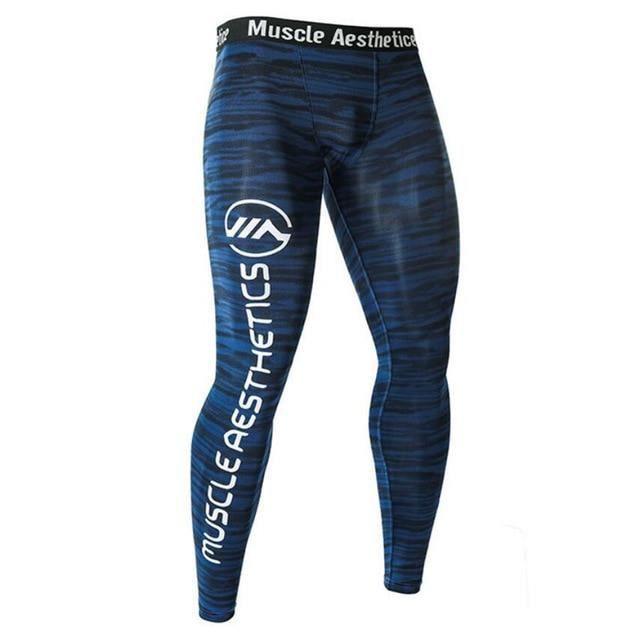 Men/'s Cycling Running Compression Gym Collants Sports Pantalon avec poche