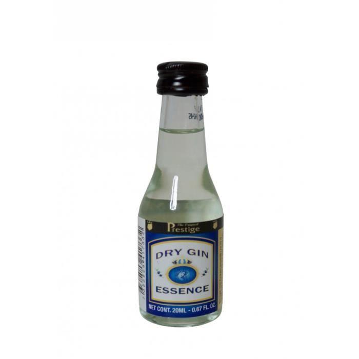 """GIN Avec 20 ml  d´essence """"Dry Gin""""  vous pouvez créer"""