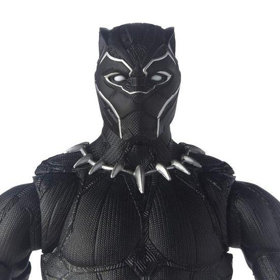 MARVEL COMICS Panther Made in Wakanda /Étui /à Trois Plis en Simili Cuir avec Porte-Cartes de cr/édit Noir 17 cm