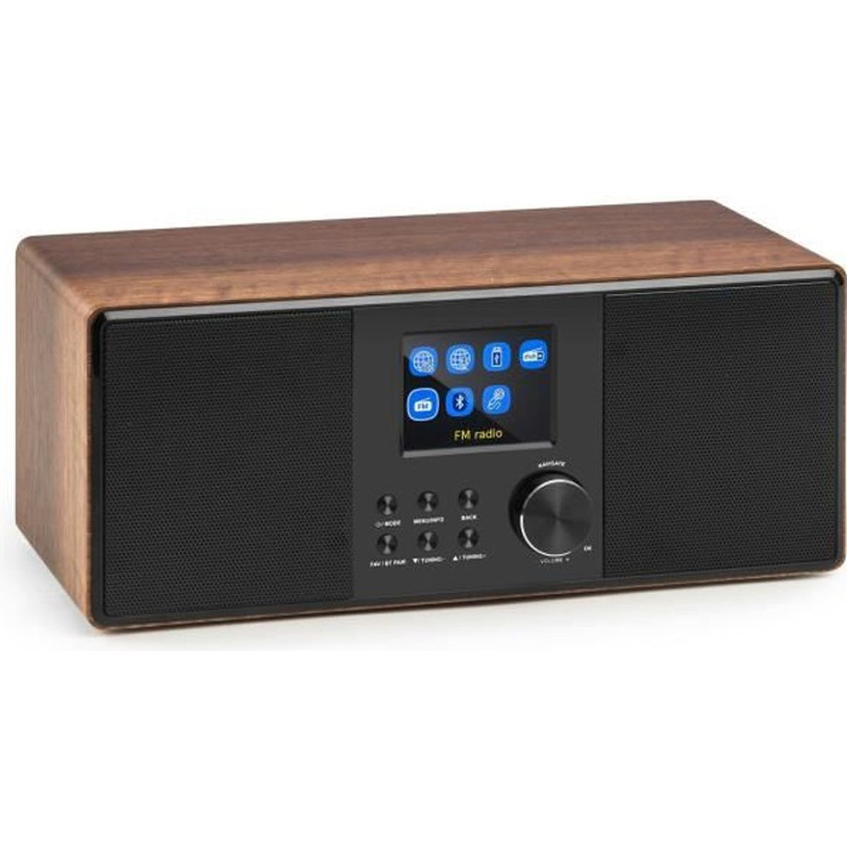 auna connect 120 radio wifi internet avec tuner dab et. Black Bedroom Furniture Sets. Home Design Ideas