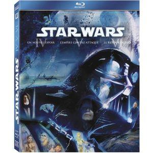 BLU-RAY FILM Blu-ray Coffret Star Wars - La trilogie - Episodes