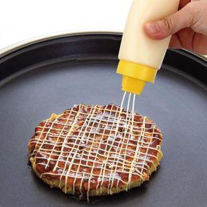 SOUS-VERRE - BOUTEILLE  2pcs Flacons Souples – Idéal pour Sauce Ketchup Mo