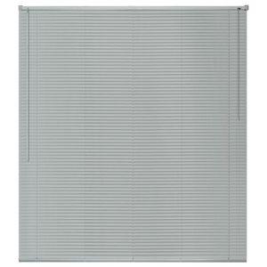 Festnight Store Aluminium Stores V/énitiens 100 x 220 cm Argent/é