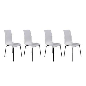 de 4 design blanche chaise Lot jqzGLSUpMV