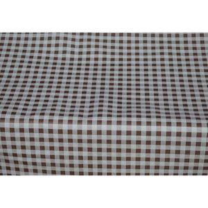 Bébé Rose Vichy Carreaux Pvc Nappe Vinyle Toile Cirée Cuisine Table de salle à manger