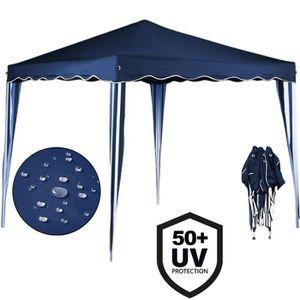 TONNELLE - BARNUM Tonnelle de jardin - Tente Pavillon Bleu Pliable 3