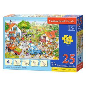 PUZZLE Puzzle 25 pièces + Puzzles éducatifs : Compter dan
