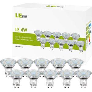 AMPOULE - LED LE Ampoules LED GU10 4W (=50W Ampoule Halogène), M