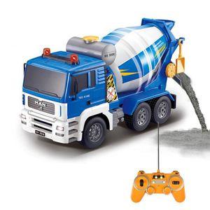 TRACTEUR - CHANTIER Télécommande camion toupie à beton - Echelle 1:20