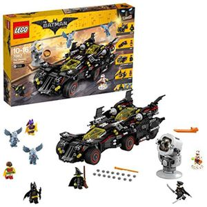 ASSEMBLAGE CONSTRUCTION Jeu D'Assemblage LEGO W3QQT DC Comics UK 70917 The