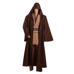 DÉGUISEMENT - PANOPLIE Star Wars Kenobi Jedi Cosplay Costume Version Brun